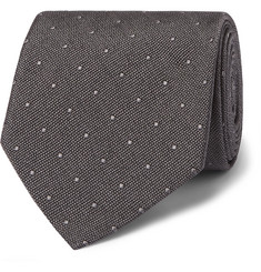 TOM FORD - 8cm Polka-Dot Silk Tie
