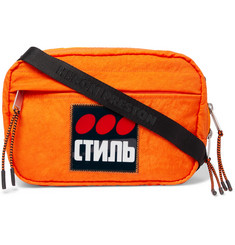 Heron Preston Logo-Appliquéd Shell Camera Bag