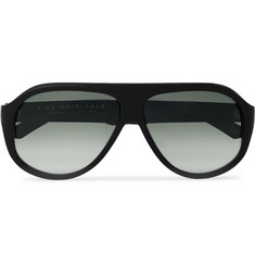 Kirk Originals - Reed Aviator-Style Acetate Sunglasses