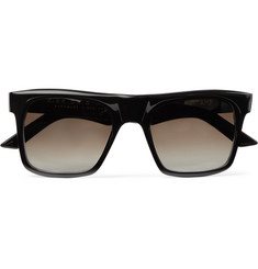 Kirk Originals Stamp Square-Frame Acetate Sunglasses