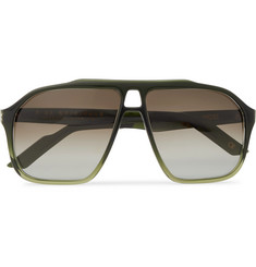 Kirk Originals - Aviator-Style Acetate Sunglasses