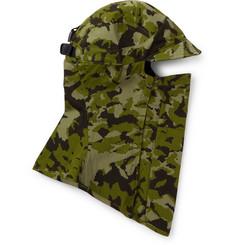 + Matthew Williams Beryllium 2.0 Tailwind Camouflage-print Cotton Balaclava - Green