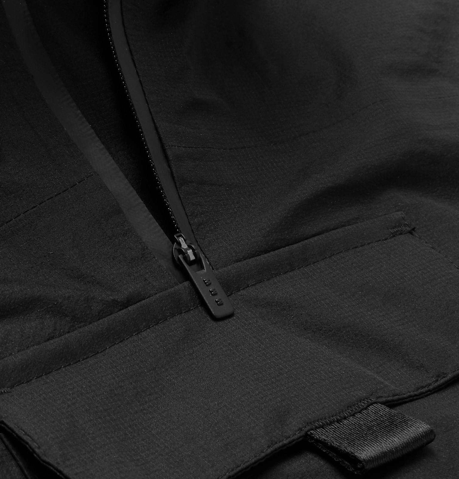 99424837db54 Nike+ Matthew Williams Beryllium Camouflage-Print Shell-Trimmed Fleece  Jacket
