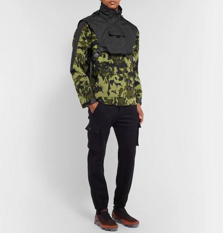 a6e6d224604a Nike - + Matthew Williams Beryllium Camouflage-Print Shell-Trimmed ...