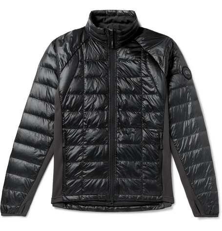 Hy Bridge Lite Slim Fit Quilted Nylon Down Jacket by Canada Goose