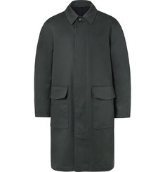 Mr P. - Oversized Bonded Cotton-Blend Raincoat