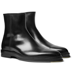 Dunhill Leather Chelsea Boots
