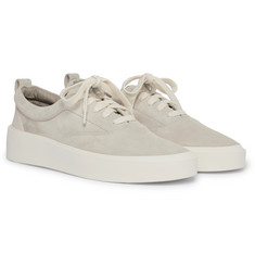 Fear of God 101 Leather-Trimmed Suede Sneakers