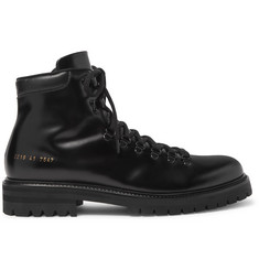 Common Projects Leather Boots