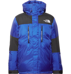 The North Face Original Himalayan Windstopper Canvas-Panelled Quilted GORE-TEX® Hooded Down Jacket
