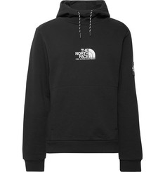 The North Face Logo-Print Fleece-Back Cotton-Jersey Hoodie