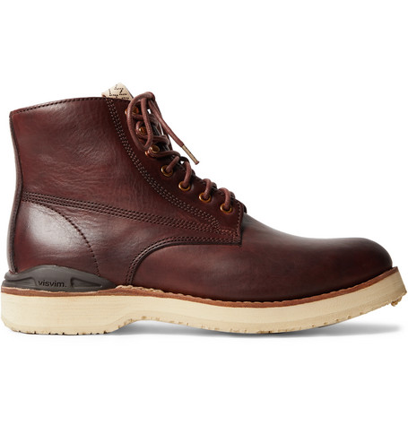 Virgil Burnished Leather Boots by Visvim