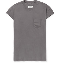 Maison Margiela Distressed Cotton-Jersey T-Shirt