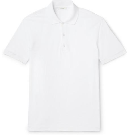 The Row T-shirts NAHOR COTTON-PIQUÉ POLO SHIRT