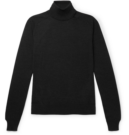 The Row Sweaters RONALD SLIM-FIT WOOL ROLLNECK SWEATER