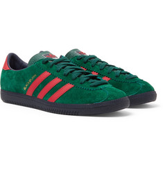 adidas Consortium Blackburn SPZL Suede and Leather Sneakers