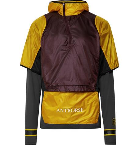 e8512f7b30e6f Nike x Undercover+ GYAKUSOU Transform Convertible Dri-FIT Mesh and Ripstop  Running Jacket