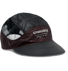 Nike x Undercover + GYAKUSOU NRG Tailwind Logo-Print Ripstop and Mesh Cap