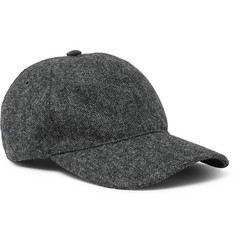 A.P.C. Aaron Wool-Tweed Baseball Cap