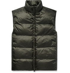 Theory Slim-Fit Quilted Shell Down Gilet