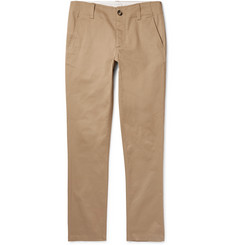 Sandro Tapered Cotton-Twill Chinos