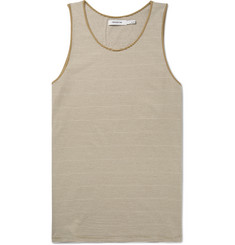 nonnative Dweller Striped Cotton-Jersey Tank Top