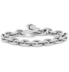nonnative + END Dweller Burnished Steel Bracelet