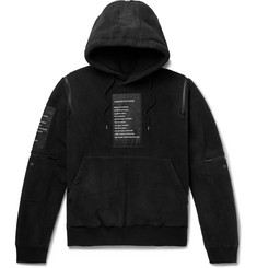 TAKAHIROMIYASHITA TheSoloist. Oversized Appliquéd Fleece Hoodie
