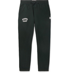 Reigning Champ Slim-Fit Printed Loopback Cotton-Jersey Sweatpants