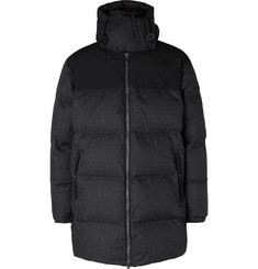 The North Face Black Series Quilted Pertex Quantum Hooded Down Jacket