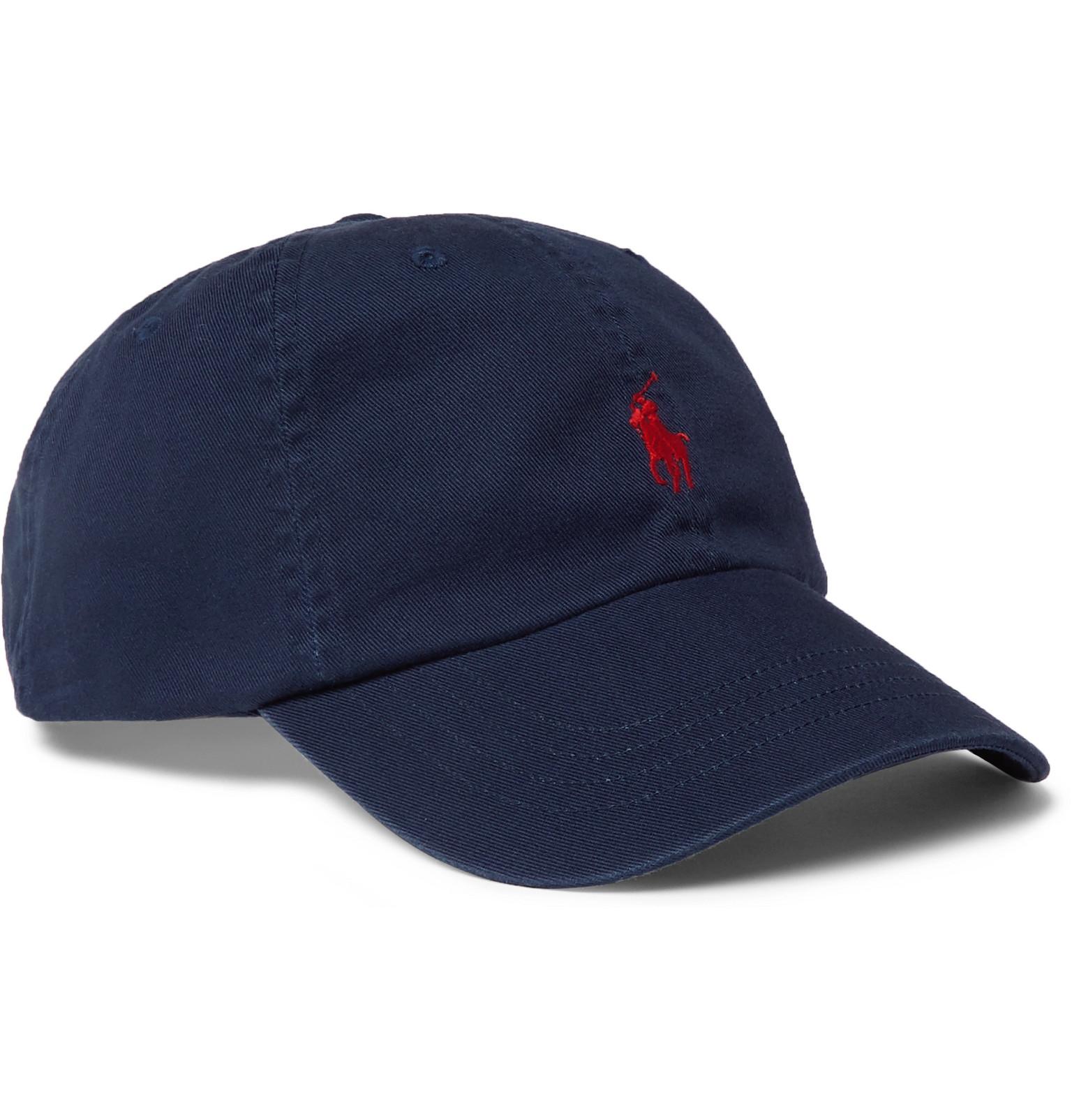 d09f71385 Polo Ralph Lauren - Logo-Embroidered Cotton-Twill Baseball Cap