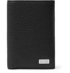 Hugo Boss Crosstown Full-Grain Leather Billfold Cardholder
