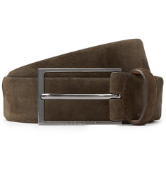 Hugo Boss 3.5cm Calindo Suede Belt