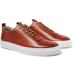 a520b7342e2f Grenson - Hand-Painted Leather Sneakers
