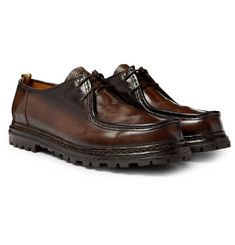 Officine Creative - Volcov Polished-Leather Derby Shoes