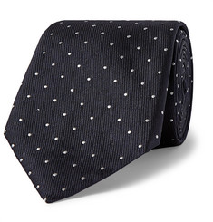 Hugo Boss 8cm Pin-Dot Silk-Faille Tie