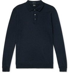 Hugo Boss Virgin Wool Polo Shirt