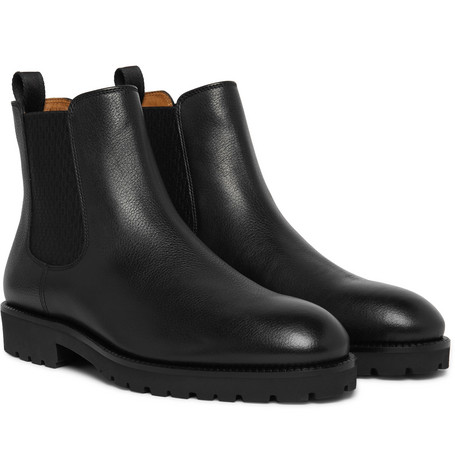 Eden Leather Chelsea Boots by Hugo Boss