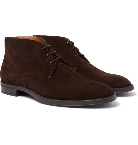 Coventry Suede Chukka Boots by Hugo Boss