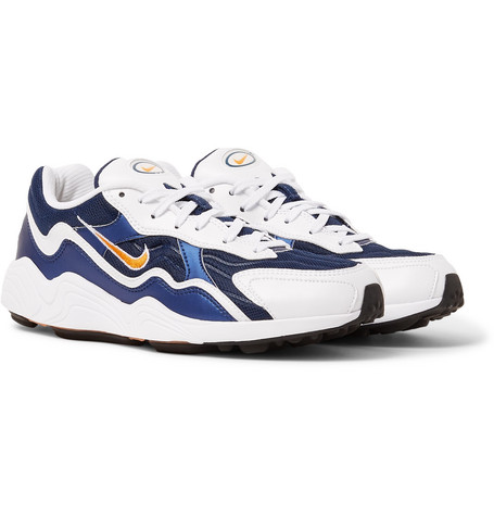 on sale 5d0b0 af83b NikeAir Zoom Alpha Mesh and Leather Sneakers