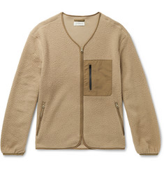 Satta Mikah Shell-Trimmed Fleece Jacket