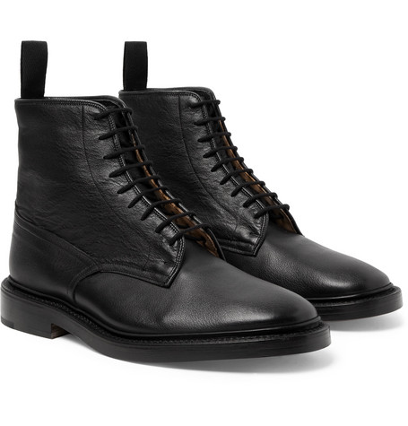 Anniversary Edition Cruiser Tramping Leather Boots - Black
