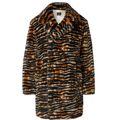 Needles Tiger-Print Faux Fur Coat
