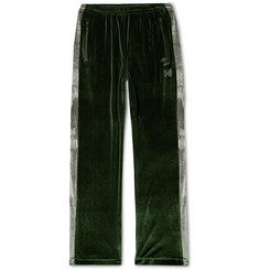 Needles Two-Tone Velour Track Pants