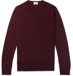 William Lockie Merino Wool Sweater