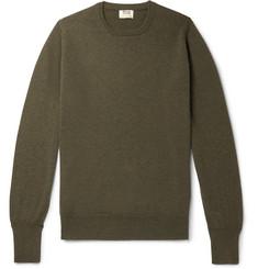 Cashmere Sweater - Dark green