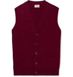 William Lockie Slim-Fit Cashmere Sweater Vest