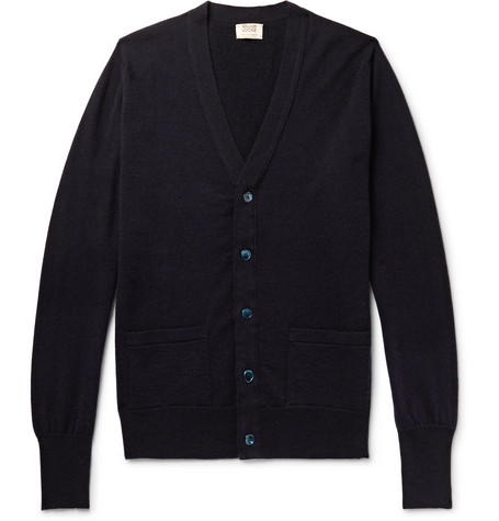 William Lockie Slim-Fit Cashmere Cardigan