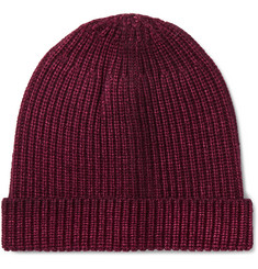 Altea Ribbed Virgin Wool Beanie