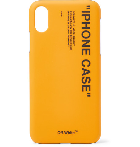 Off-White Printed iPhone X Case